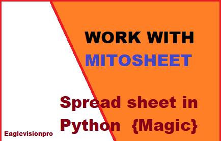 Mitosheet
